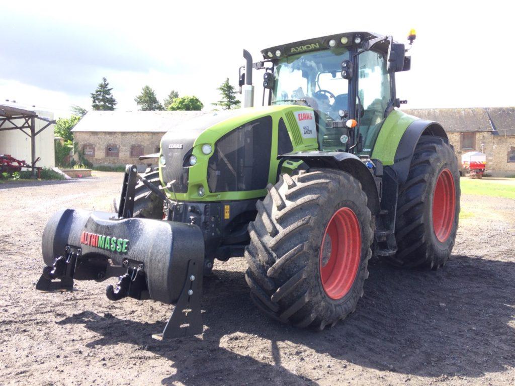 Tracteur agricole masse Althimasse