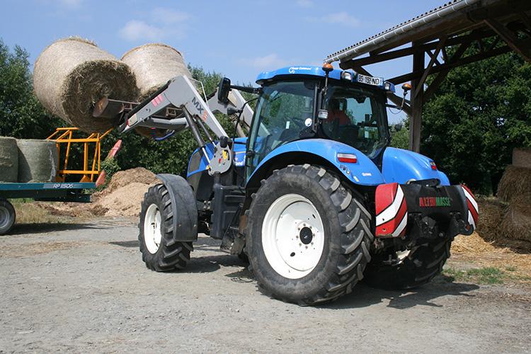 Tracteur avec Masse Outil Althimasse