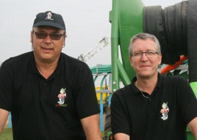 Joseph Thoonsen et Laurent Berthelot, respectivement le PDG et le Directeur de la fonderie